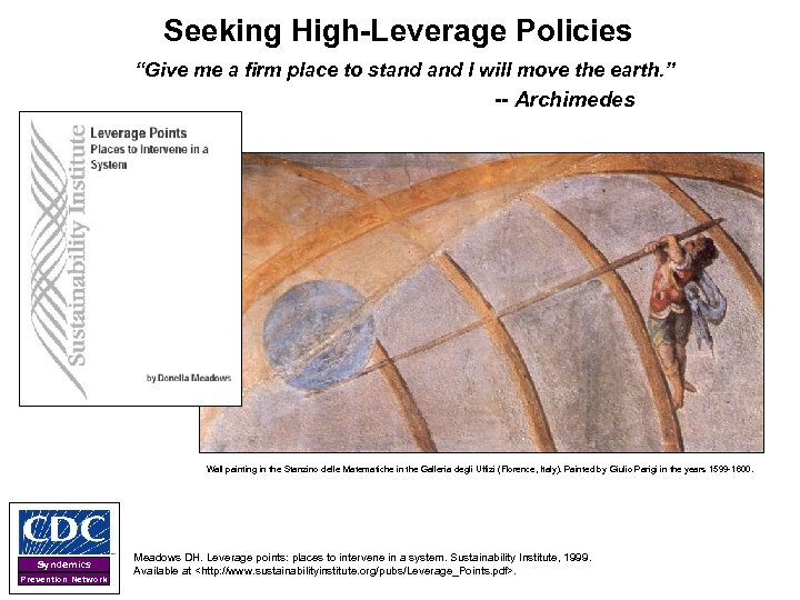"""Seeking High-Leverage Policies """"Give me a firm place to stand I will move the"""