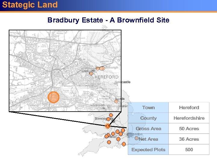 Stategic Land Key A Brownfield Site Bradbury Estate -Sites