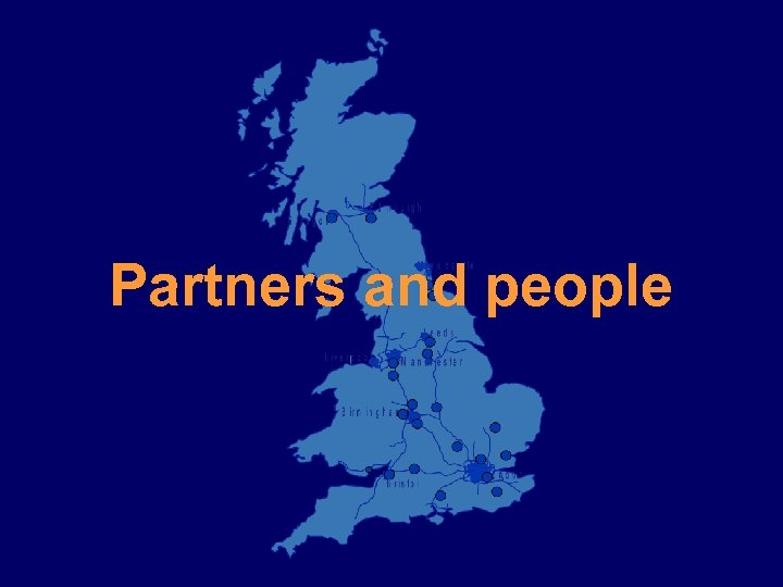 Partners and people