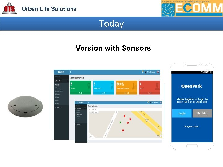 Urban Life Solutions Today Version with Sensors