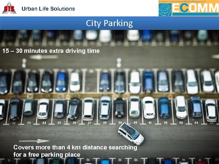 Urban Life Solutions City Parking 15 – 30 minutes extra driving time Covers more