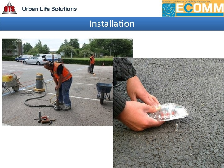 Urban Life Solutions Installation