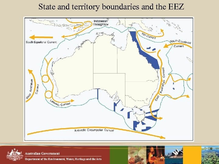 State and territory boundaries and the EEZ