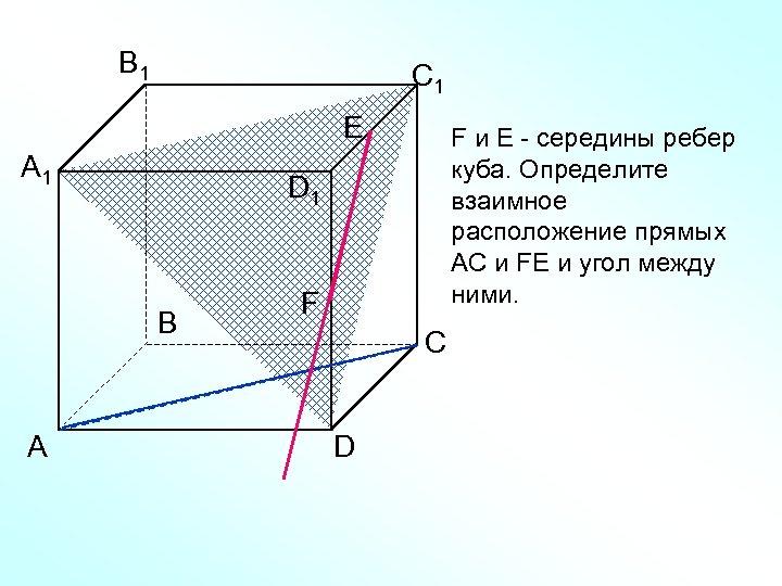 B 1 С 1 Е А 1 D 1 В А F и Е