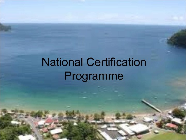 National Certification Programme 4