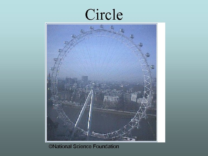 Circle ©National Science Foundation