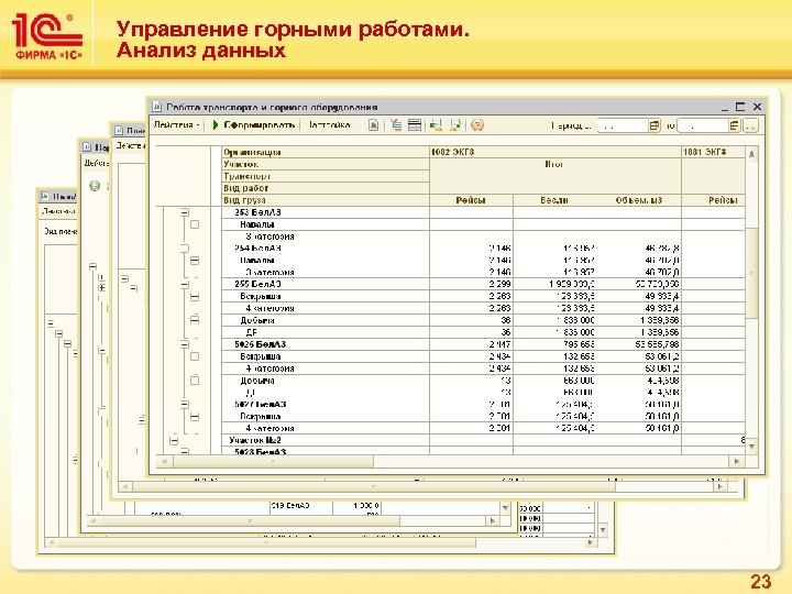 Управление горными работами. Анализ данных 23