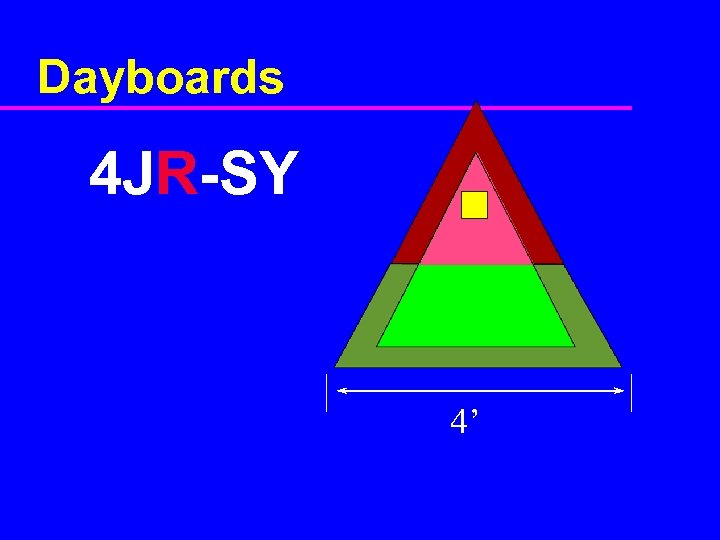 Dayboards 4 JR-SY 4'