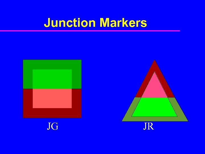 Junction Markers JG JR