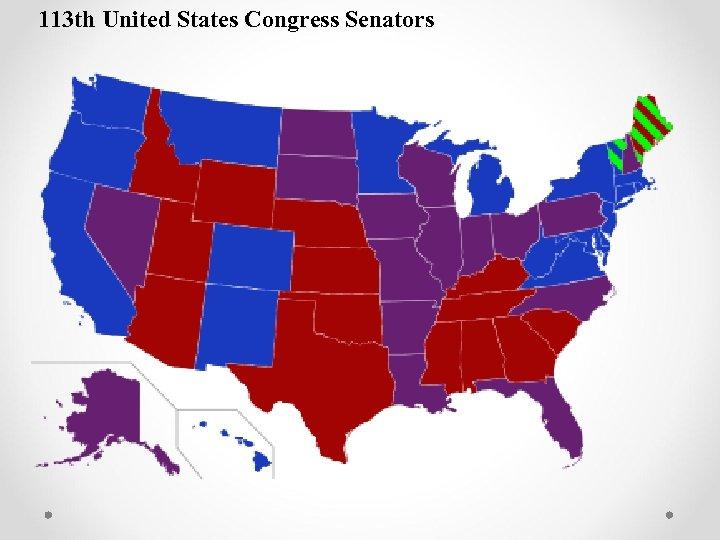 113 th United States Congress Senators