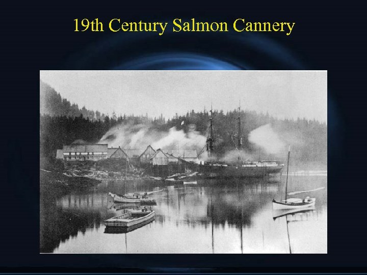 19 th Century Salmon Cannery