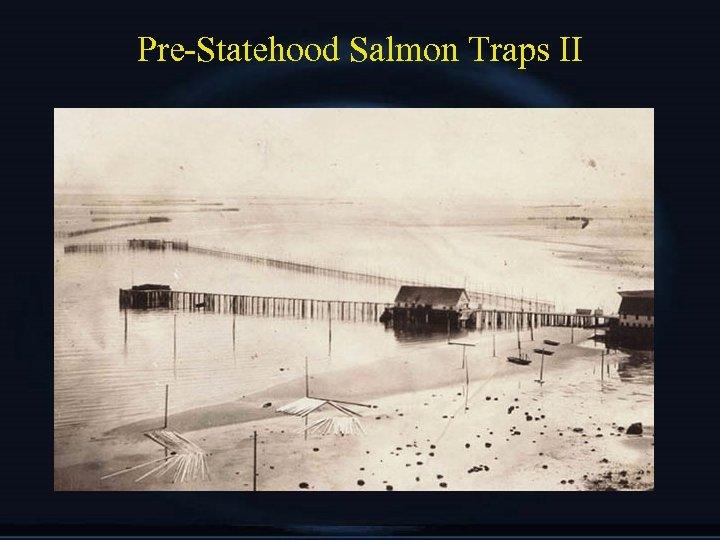 Pre-Statehood Salmon Traps II