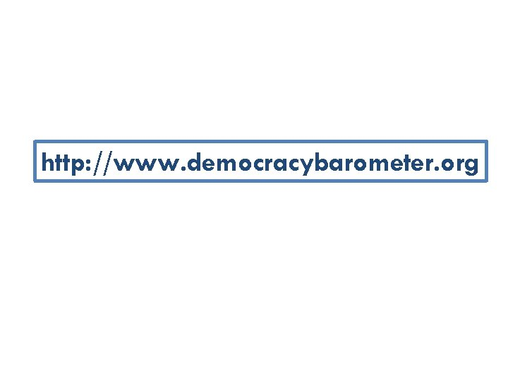 http: //www. democracybarometer. org