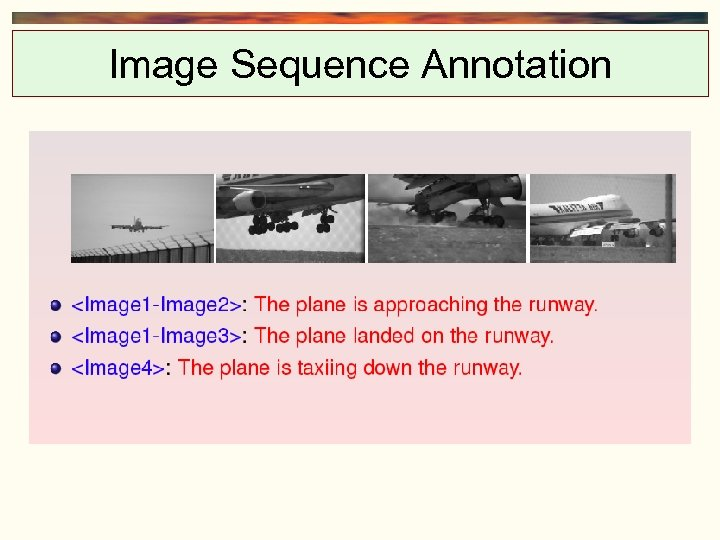 Image Sequence Annotation