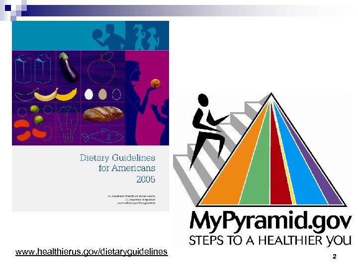 www. healthierus. gov/dietaryguidelines 2