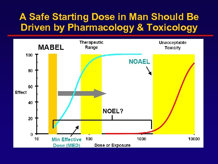 A Safe Starting Dose in Man Should Be Driven by Pharmacology & Toxicology