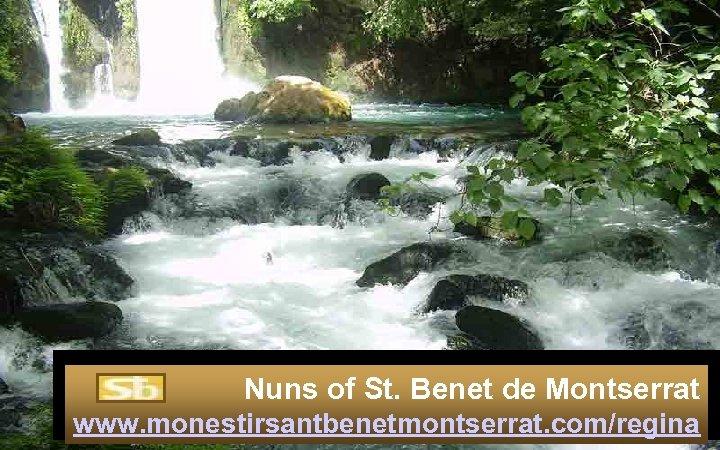 Nuns of St. Benet de Montserrat www. monestirsantbenetmontserrat. com/regina