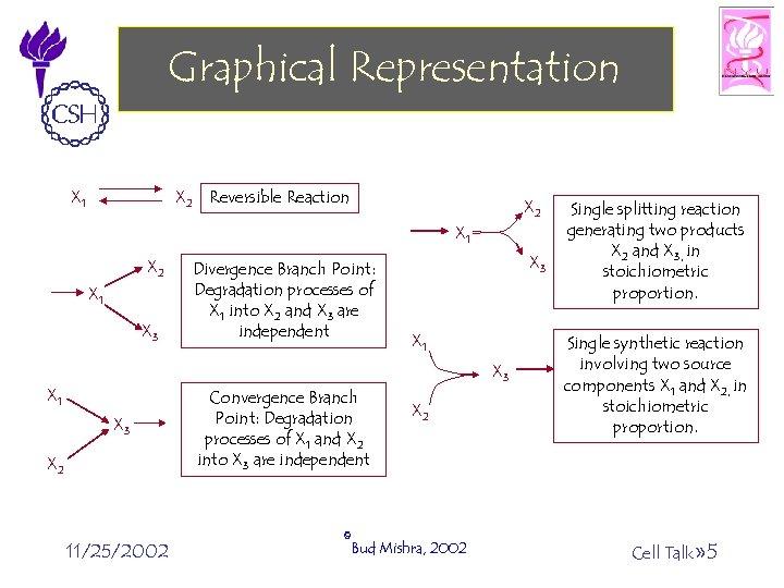 Graphical Representation X 2 Reversible Reaction X 1 X 2 X 1 X 3