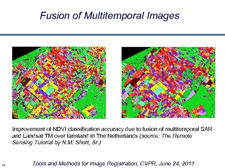 Fusion of Multitemporal Images Improvement of NDVI classification accuracy due to fusion of multitemporal