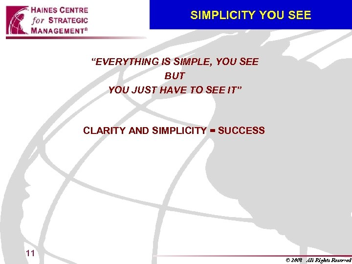 "SIMPLICITY YOU SEE ""EVERYTHING IS SIMPLE, YOU SEE BUT YOU JUST HAVE TO SEE"