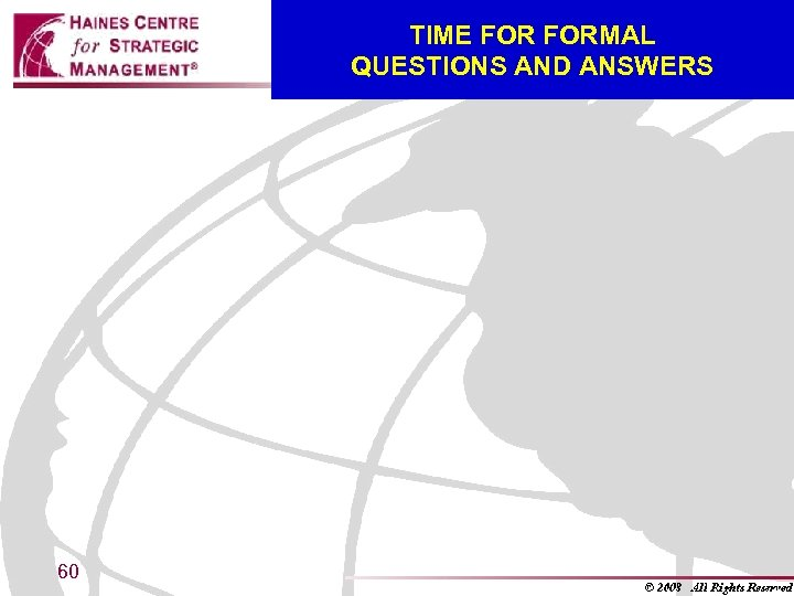 TIME FORMAL QUESTIONS AND ANSWERS 60