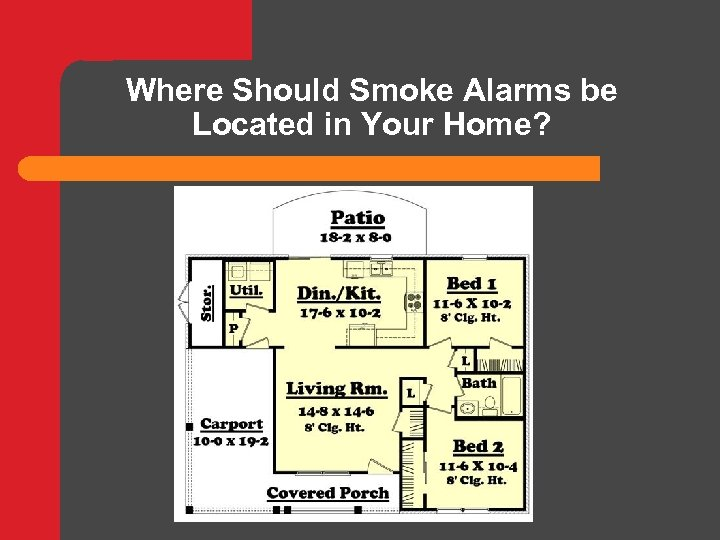 Where Should Smoke Alarms be Located in Your Home?