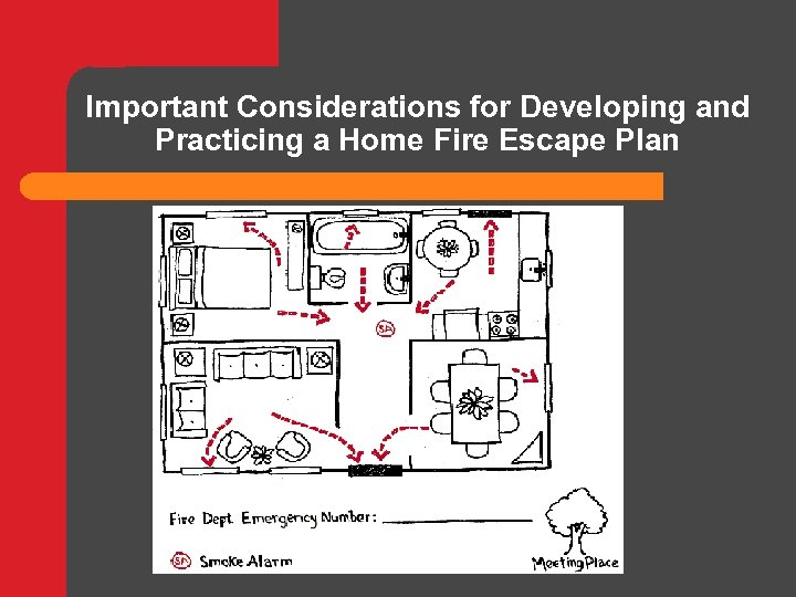 Important Considerations for Developing and Practicing a Home Fire Escape Plan
