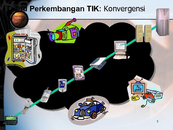 Trend Perkembangan TIK: Konvergensi 5