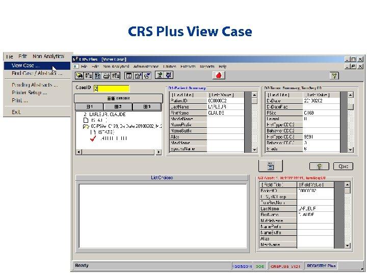 CRS Plus View Case