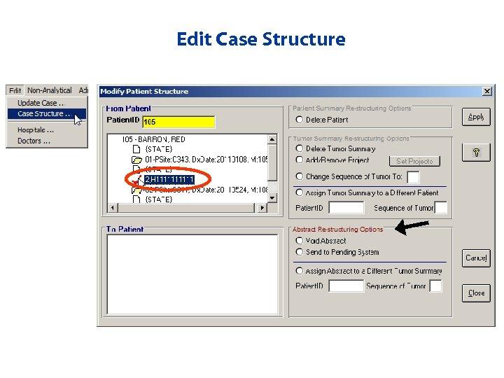 Edit Case Structure