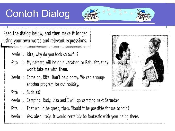 Contoh Dialog