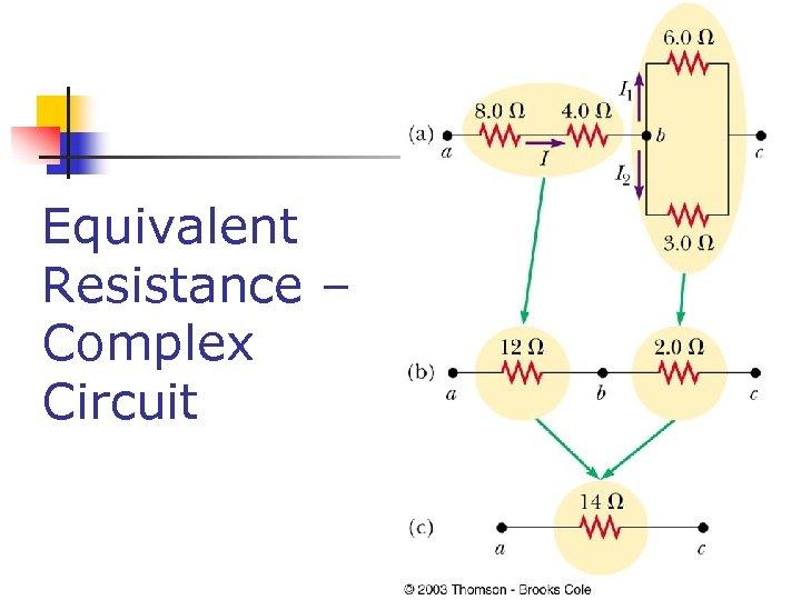 Equivalent Resistance – Complex Circuit