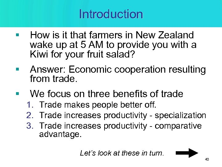 Introduction § How is it that farmers in New Zealand wake up at 5