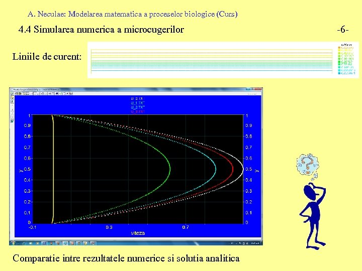 A. Neculae: Modelarea matematica a proceselor biologice (Curs) 4. 4 Simularea numerica a microcugerilor