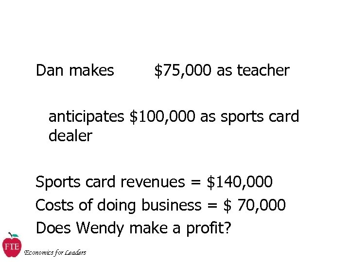 Dan makes $75, 000 as teacher anticipates $100, 000 as sports card dealer Sports