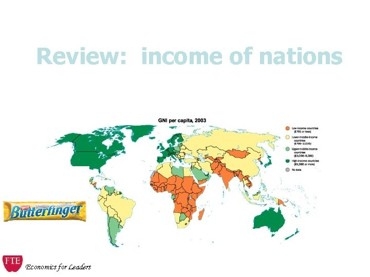 Review: income of nations Economics for Leaders