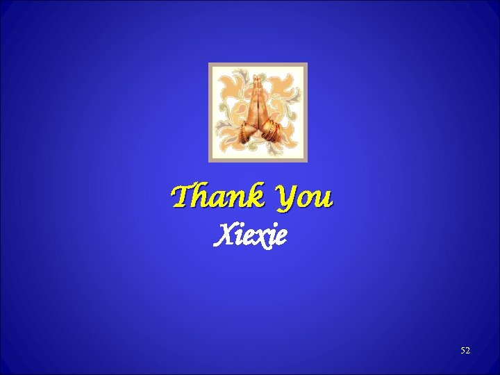 Thank You Xiexie 52