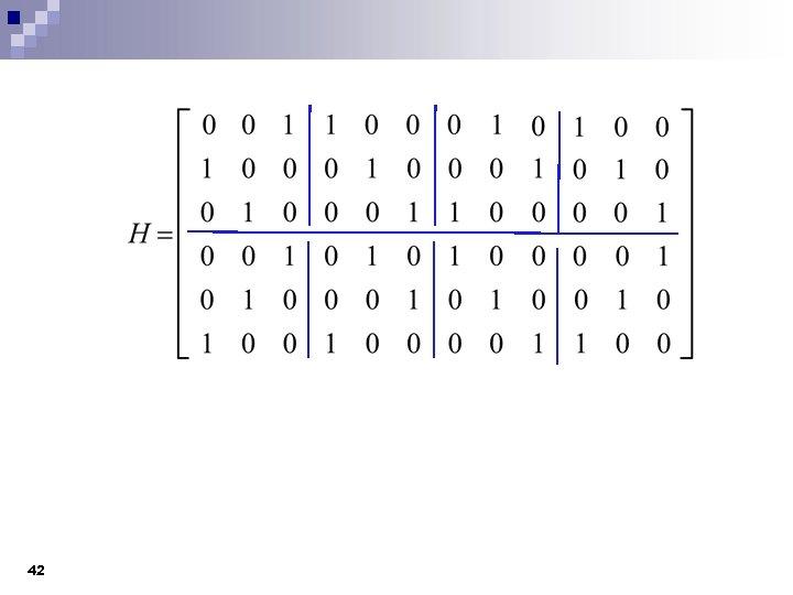 Error Correction and LDPC decoding CMPE 691 491 DSP