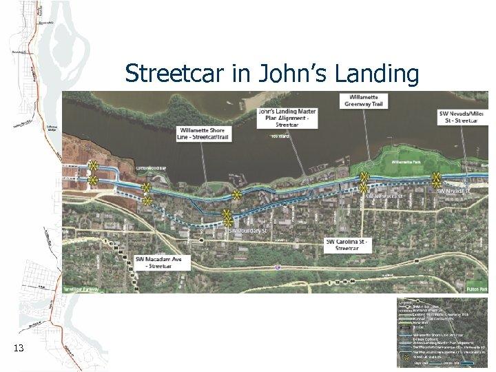 Streetcar in John's Landing 13