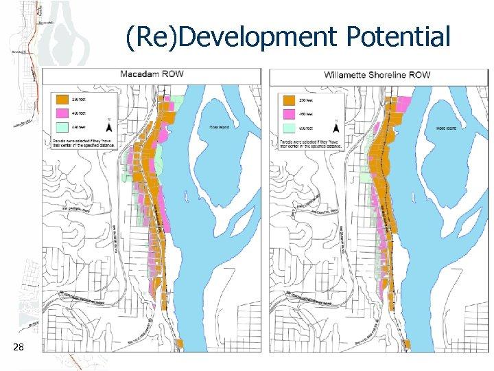(Re)Development Potential 28
