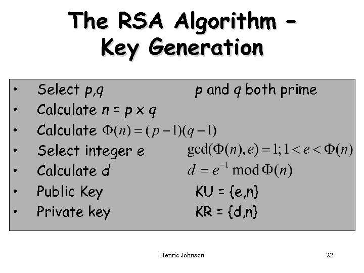Chapter 3 Public-Key Cryptography and Message Authentication