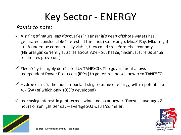 Key Sector - ENERGY Points to note: ü A string of natural gas discoveries