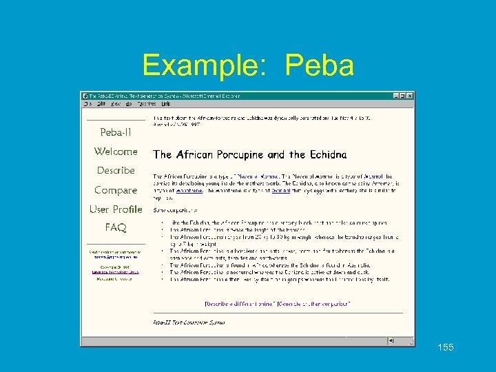 Example: Peba 155
