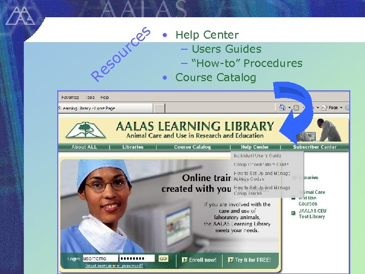 """es rc ou es R • Help Center − Users Guides − """"How-to"""" Procedures"""