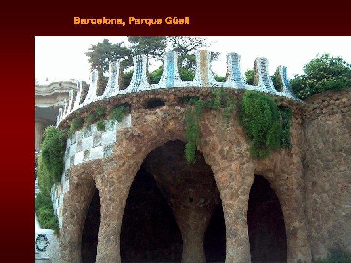 Barcelona, Parque Güell