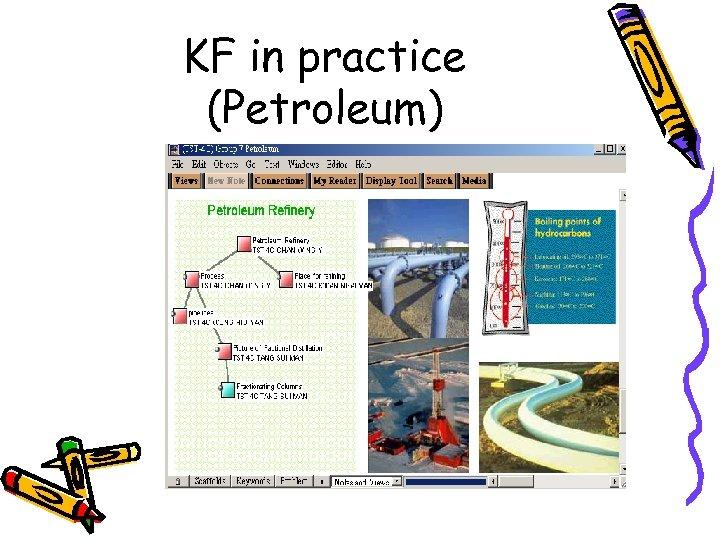 KF in practice (Petroleum)