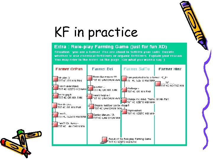 KF in practice