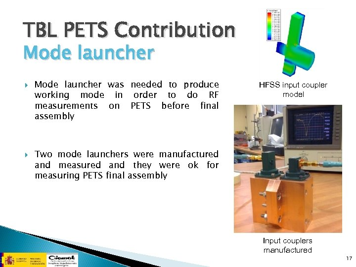 TBL PETS Contribution Mode launcher was needed to produce working mode in order to