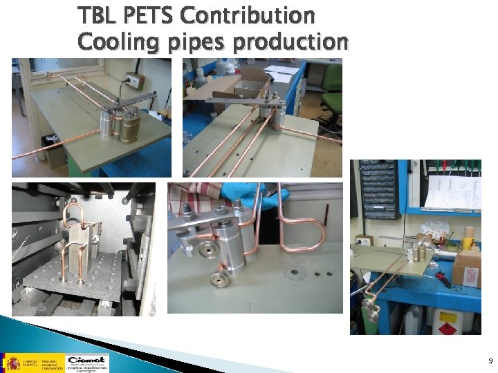 TBL PETS Contribution Cooling pipes production 9