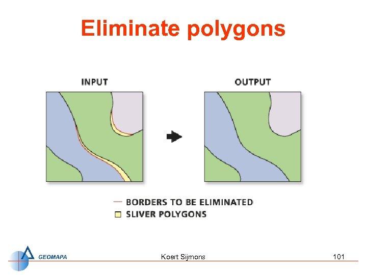 Eliminate polygons Koert Sijmons 101